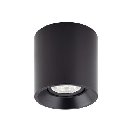 Потолочный светильник Denkirs DK3040-BK, 1xGU5.3x10W, черный, пластик
