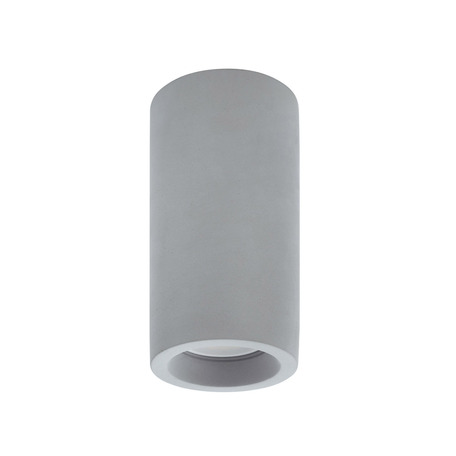 Потолочный светильник Denkirs DK5001-CE, 1xGU10x50W, серый, бетон