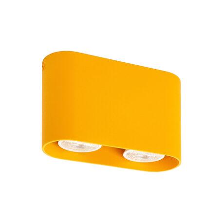 Потолочный светильник Denkirs DK2006-YE, 2xGU10x50W, желтый, металл