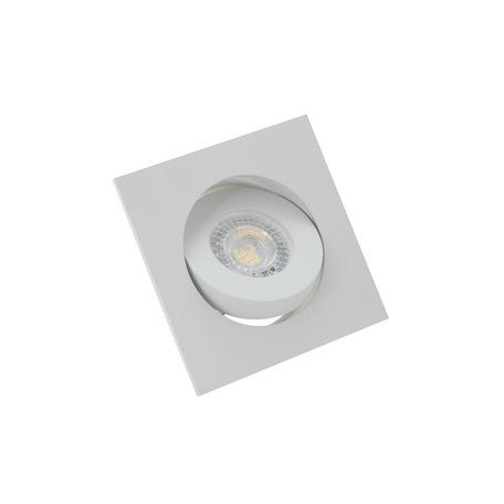 Встраиваемый светильник Denkirs DK2021-WH, 1xGU10x50W, белый, металл