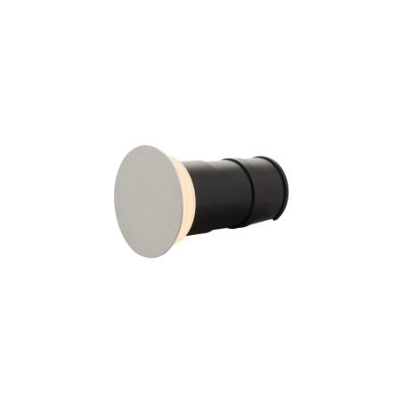 Встраиваемый настенный светодиодный светильник Denkirs DK1001-AL, IP65, LED 3W 3000K, серый, металл, пластик