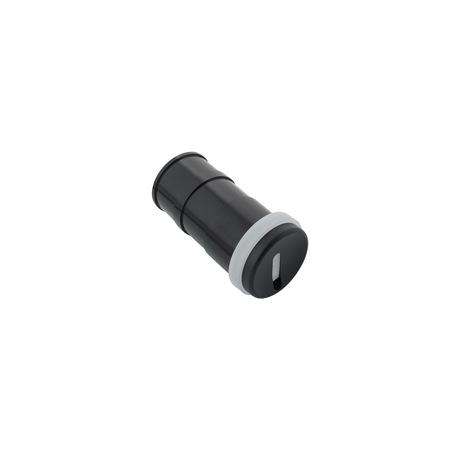 Встраиваемый настенный светодиодный светильник Denkirs DK1007-BK, IP65, LED 3W 3000K, черный, металл, пластик