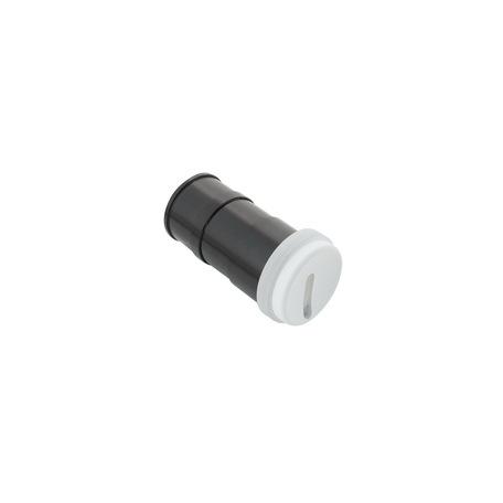 Встраиваемый настенный светодиодный светильник Denkirs DK1007-WH, IP65, LED 3W 3000K, белый, металл, пластик