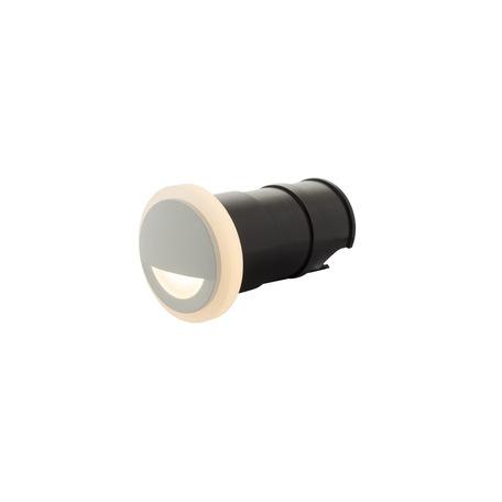 Встраиваемый настенный светодиодный светильник Denkirs DK1009-WH, IP65, LED 3W 3000K, белый, металл, пластик