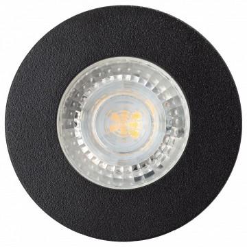 Встраиваемый светильник Denkirs DK2030-BK, 1xGU10x50W, черный, металл