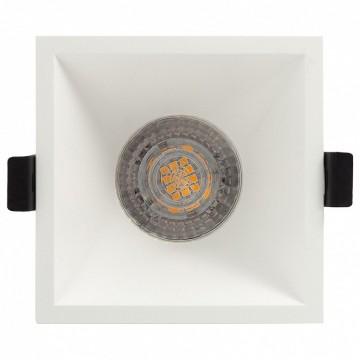 Встраиваемый светильник Denkirs DK3025-WH, 1xGU5.3x10W, белый, пластик