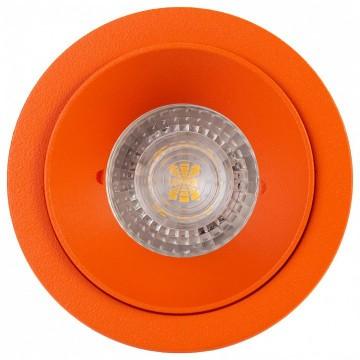 Встраиваемый светильник Denkirs DK2026-OR, 1xGU10x50W, оранжевый, металл