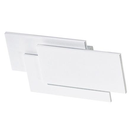 Настенный светодиодный светильник Azzardo Clover AZ2199, LED 12W 3000K 840lm, белый, металл