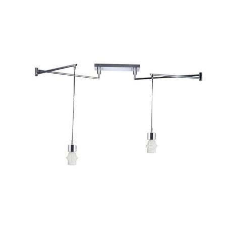 Основание подвесного светильника Azzardo Natalia AZ1923, 2xE27x60W, хром, металл