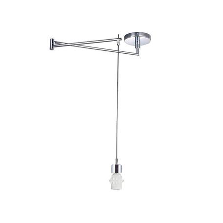 Основание подвесного светильника Azzardo Natalia AZ1924, 1xE27x60W, хром, металл