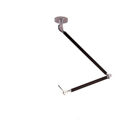 Основание потолочного светильника на складной штанге Azzardo Zyta AZ1847, 1xE27x60W, черный, металл