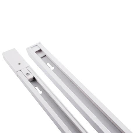 Шинопровод в сборе с питанием и заглушкой Arte Lamp Instyle A520133, белый, металл