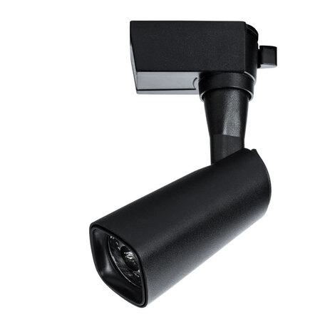 Светодиодный светильник с регулировкой направления света для шинной системы Arte Lamp Instyle Barut A4561PL-1BK, LED 10W 4000K 750lm CRI≥80, черный, металл