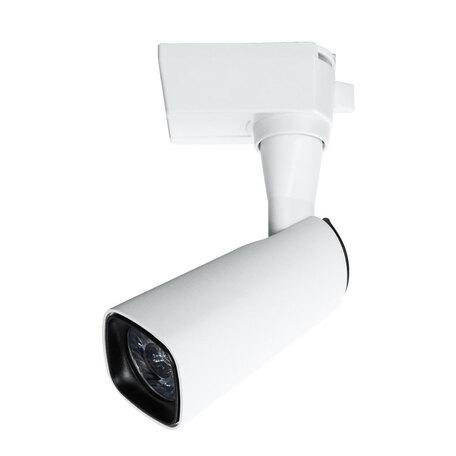 Светодиодный светильник с регулировкой направления света для шинной системы Arte Lamp Instyle Barut A4561PL-1WH, LED 10W 4000K 750lm CRI≥80, белый, металл