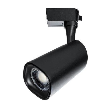 Светодиодный светильник с регулировкой направления света для шинной системы Arte Lamp Instyle Barut A4563PL-1BK, LED 24W 4000K 1800lm CRI≥80, черный, металл