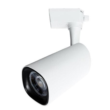 Светодиодный светильник с регулировкой направления света для шинной системы Arte Lamp Instyle Barut A4563PL-1WH, LED 24W 4000K 1800lm CRI≥80, белый, металл