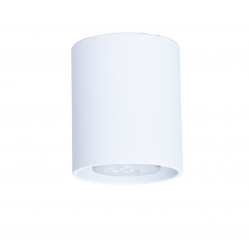 Потолочный светильник Topdecor Tubo8 P1 10, 1xGU10x50W, белый, металл