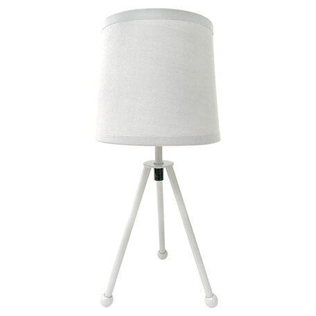Настольная лампа Lussole LGO Amistad LSP-0537, IP21, 1xE14x25W, серый, металл, текстиль