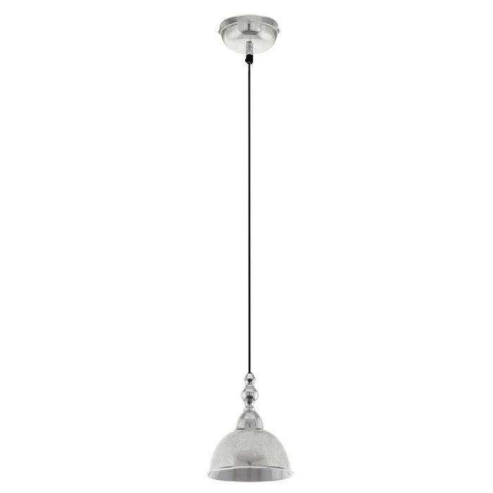 Подвесной светильник Eglo Easington 49183, 1xE27x60W, хром, металл - фото 1