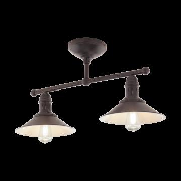 Потолочный светильник Eglo 49824, 2xE27x60W