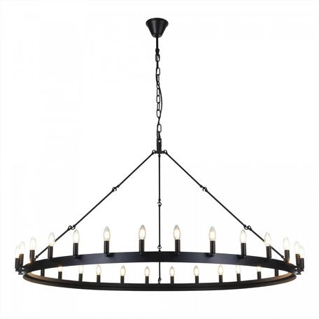 Светильник Citilux Смитсон CL470130, 30xE14x60W, венге, металл