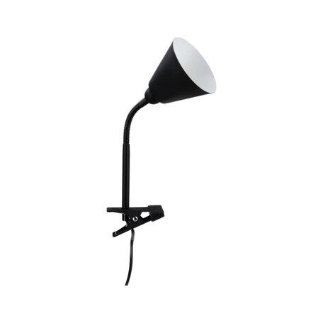 Светильник на прищепке Paulmann Vitis 95430, 1xE14x20W, черный, пластик, металл