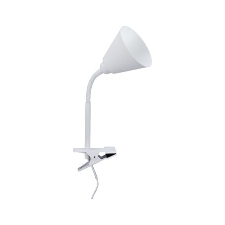 Светильник на прищепке Paulmann Vitis 95431, 1xE14x20W, белый, пластик, металл