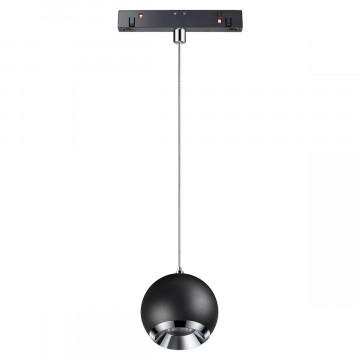 Светодиодный светильник Novotech Shino Flum 358401, LED 10W 4000K 850lm, черный, металл