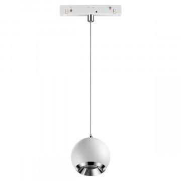 Светодиодный светильник Novotech Shino Flum 358402, LED 10W 4000K 850lm, белый, металл