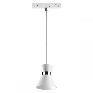 Светодиодный светильник Novotech Shino Flum 358407, LED 10W 4000K 800lm, белый, металл
