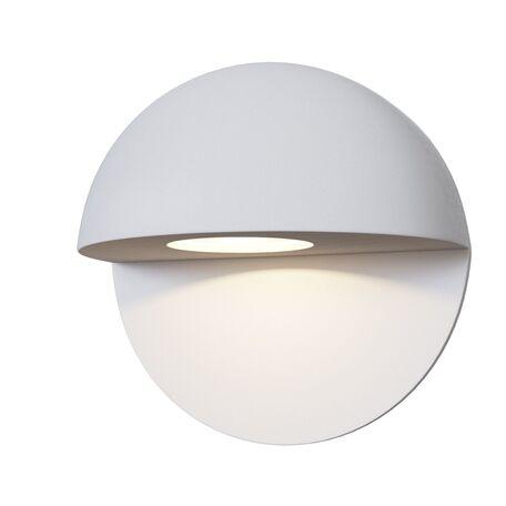Настенный светодиодный светильник Maytoni Mezzo O033WL-L3W3K, IP54, LED 3W 3000K 250lm CRI80, белый, металл