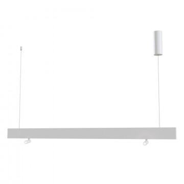 Подвесной светодиодный светильник Maytoni Puntero P068PL-L27W4K, LED 30W 4000K 2200lm CRI80, белый, металл