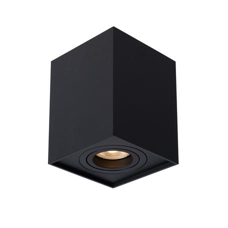 Потолочный светильник Lucide Tube 22953/01/30, 1xGU10x50W, черный, металл