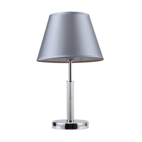 Настольная лампа Favourite F-Promo Martina 2193-1T, 1xE14x40W, металл, стекло, текстиль