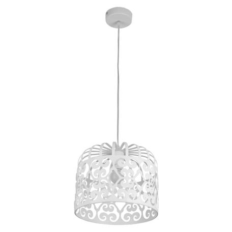 Подвесной светильник Toplight Charlotte TL4010D-01WH, 1xE27x60W, белый, металл