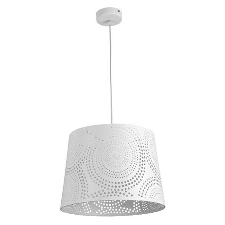 Подвесной светильник Toplight Carol TL4030D-01WH, 1xE27x60W, белый, металл, пластик