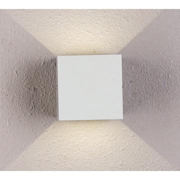 Настенный светодиодный светильник Crystal Lux CLT 520W WH 1400/430, LED 6W 4000K 407lm CRI>80, белый, металл