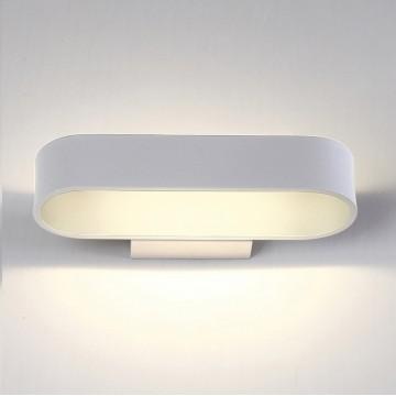 Настенный светильник Crystal Lux CLT 511W260 WH 1400/432 4000K (дневной), белый, металл