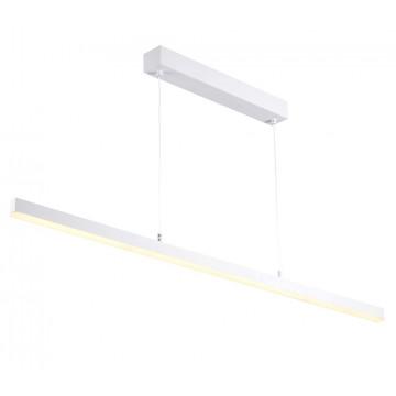 Подвесной светодиодный светильник Crystal Lux CLT 040C120 WH 1400/200, LED 30W 4000K 2150lm, белый, металл