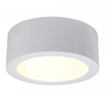 Потолочный светодиодный светильник Crystal Lux CLT 521C173 WH 1400/118, LED 18W, 4000K (дневной), белый, металл