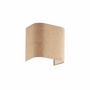 Абажур Ideal Lux Gea Paralume AP2 239606, коричневый, текстиль