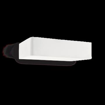 Настенный светильник Ideal Lux BRICK AP2 104355, 2xG9x40W, белый, металл