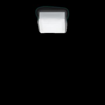 Потолочный светильник Ideal Lux IRIS PL1 D13 104515, 1xGX53x15W, хром, белый, металл, стекло