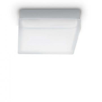 Потолочный светильник Ideal Lux IRIS PL1 D22 104546, 1xGX53x15W, хром, белый, металл, стекло