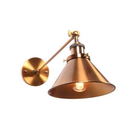 Настенный светильник Lumina Deco Gubi LDW B016-1 MD, 1xE27x40W, матовое золото, металл