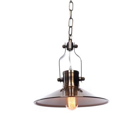 Подвесной светильник Lumina Deco Setorre LDP 711-1 MD, 1xE27x40W, бронза, металл