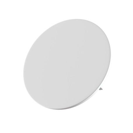 Настенный светодиодный светильник Maytoni Parma C123-WL-02-3W-W, LED 12W 3000K 580lm CRI80, белый, под покраску, гипс