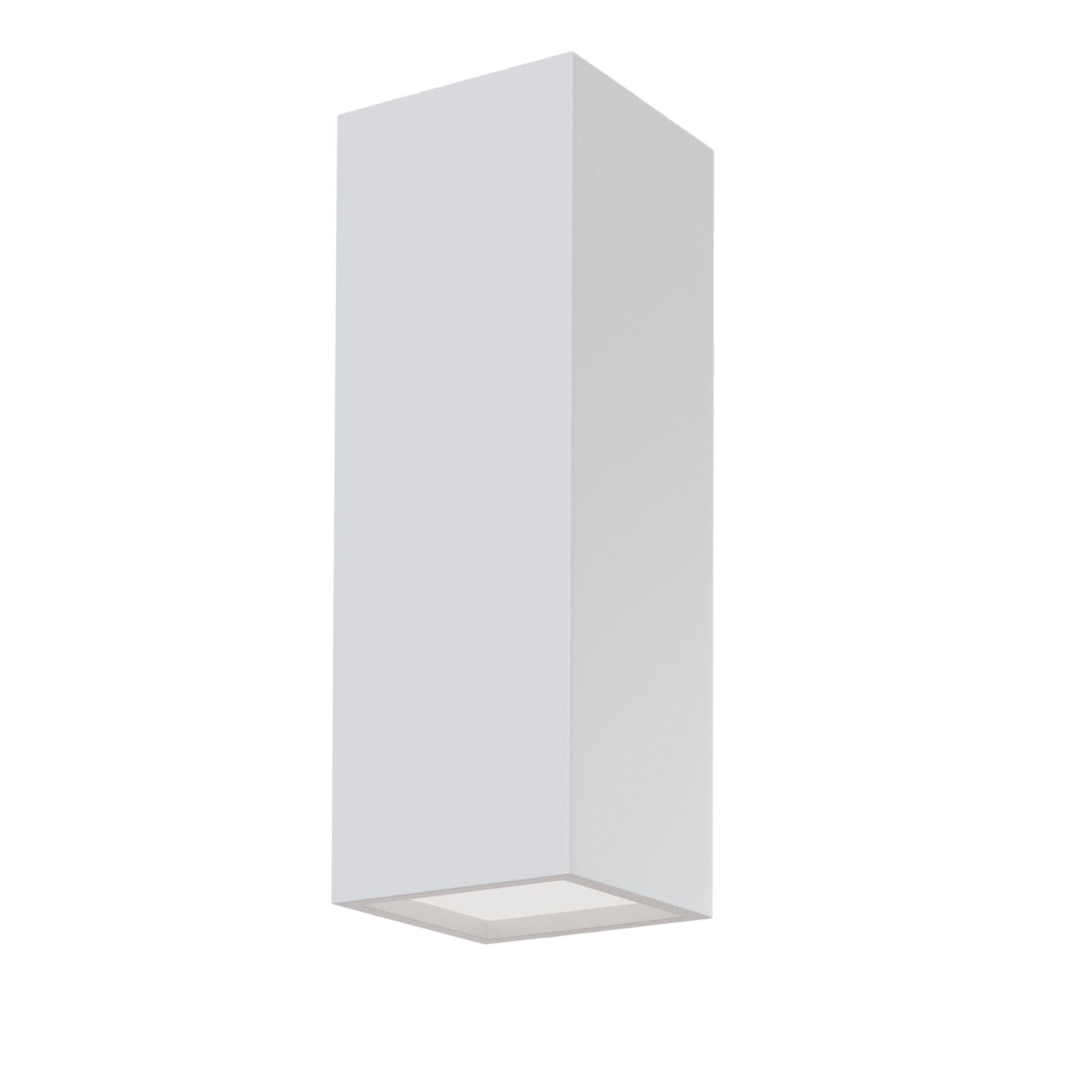 Настенный светильник Maytoni Parma C190-WL-02-W, 2xG9x5W, белый, под покраску, гипс - фото 1