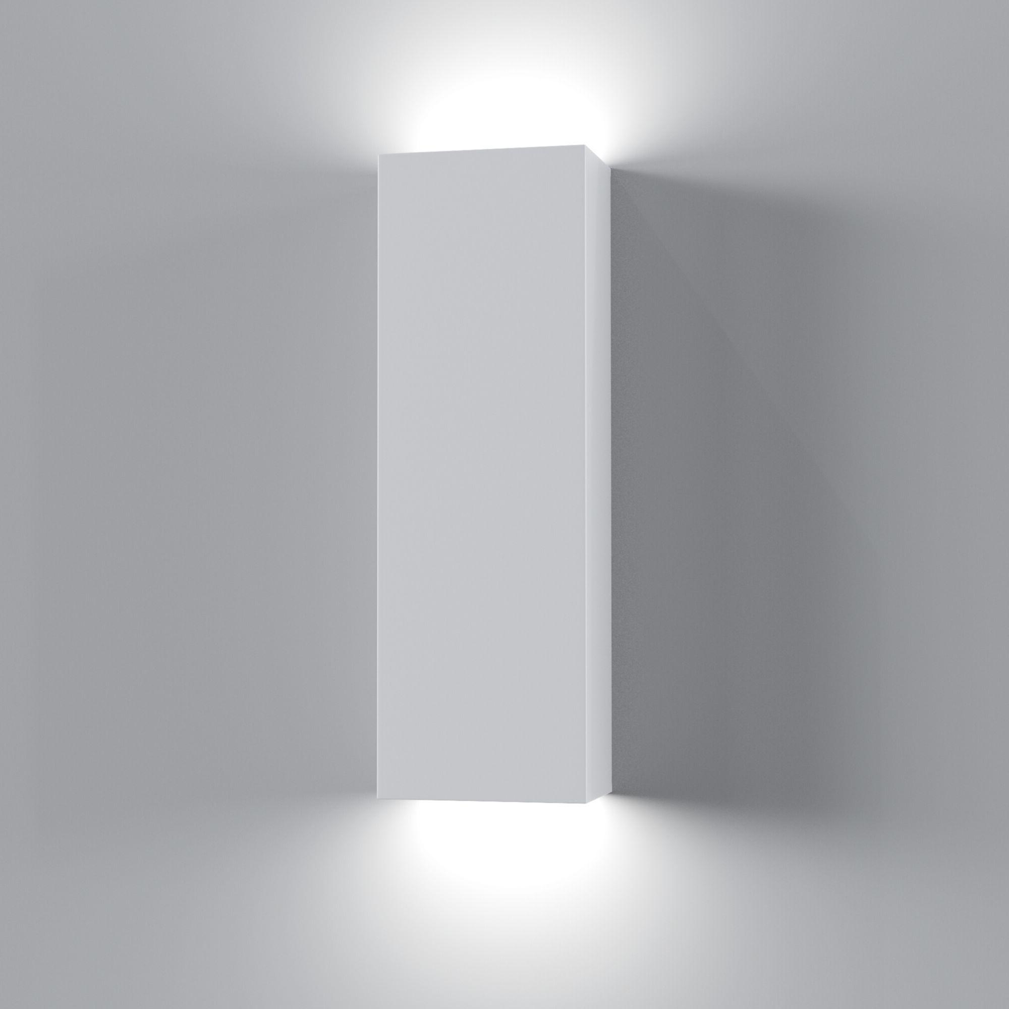 Настенный светильник Maytoni Parma C190-WL-02-W, 2xG9x5W, белый, под покраску, гипс - фото 2
