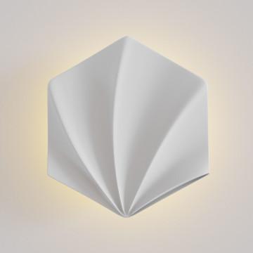 Настенный светодиодный светильник Maytoni Mixed Moods C286-WL-01-5W-W, LED 5,5W 3000K 400lm CRI80, белый, под покраску, гипс